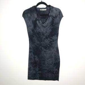 Lur Organic Size Medium Sleeveless Cowl Neck Dress